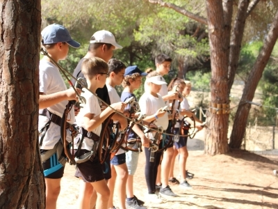 "Visit in ""Parque Aventura"" for Years 5 to 13"